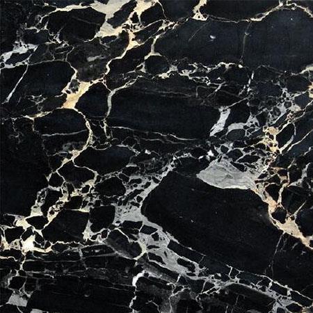 Nero Portoro Bianco Black Marble Countertops
