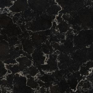 Vanilla Noir Black Quartz Countertops