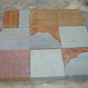 Double Color Sandstone Paving Stone