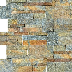 Z Shape Natural Cultured Stone Exterior Wall Cladding