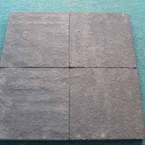 Black Sandstone Flooring Tiles And Wall