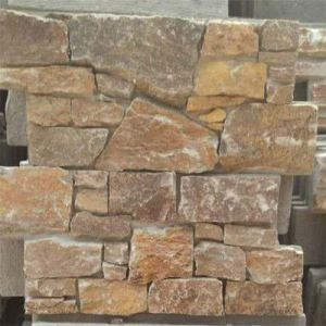 Cut To Size Rusty Slate Stone Exterior Wall Cladding