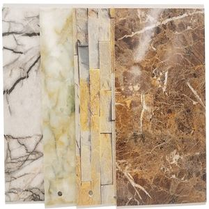 Faux Marble PVC Stone Wall Panel For Bathroom