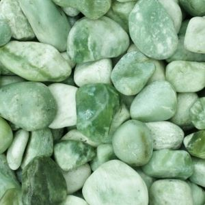 Green Jade Polished Pebbles