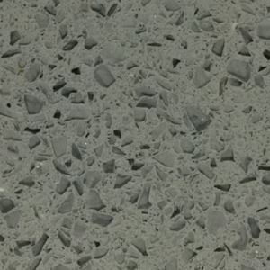 Grey Quartz Stone With Crytal Sparkling