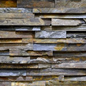 Multicolor Natural Stone Exterior Wall Cladding