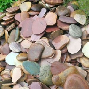 Natural River Stone Outdoor Wall Decoration
