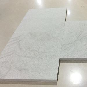 Pure White Sandstone Tiles & Slabs