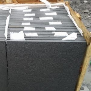 Wellest Sy162 Black Sandstone Flooring Tile