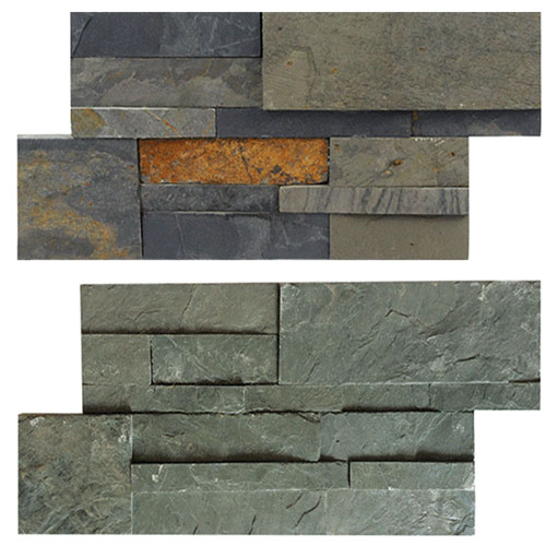 China Wall Siding Slate Panels Stone Staked For Exterior